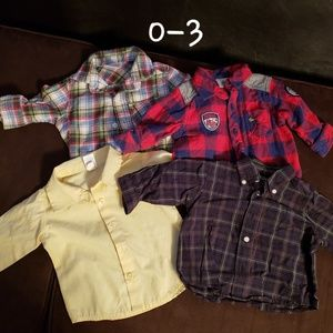 Other - Baby boy button downs